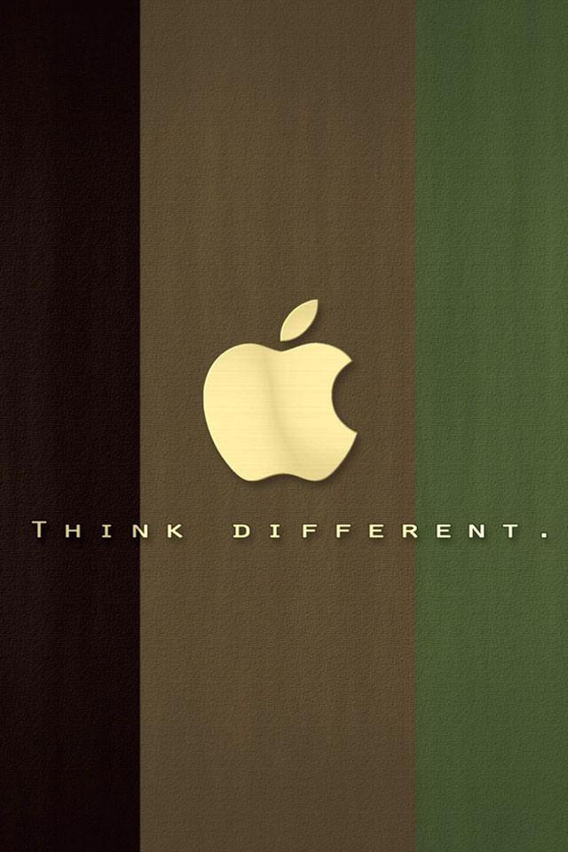 落ち着いたロゴ iPhone5 スマホ用壁紙