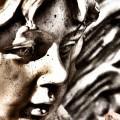 エンジェルの石像 Androidスマホ壁紙