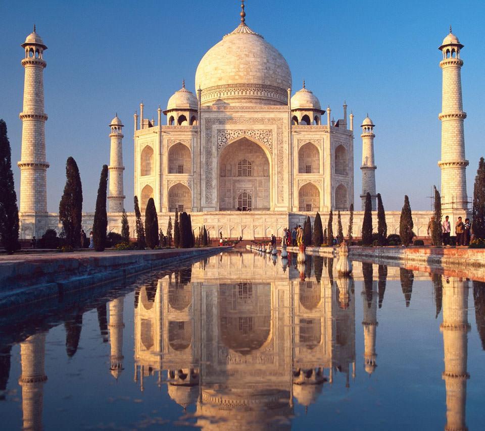 Taj Mahal Androidスマホ壁紙