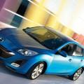 マツダの青い車 Androidスマホ壁紙