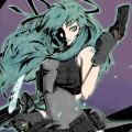 Miku & Guns Androidスマホ壁紙