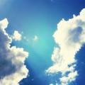 雲の切れ目 Androidスマホ壁紙