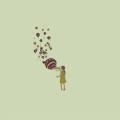 シャボン玉の気球 Androidスマホ壁紙