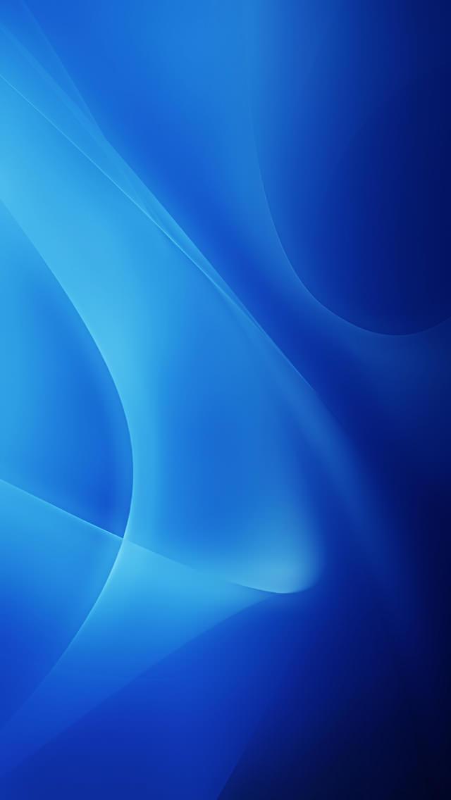 リゾナントブルー iPhone5 スマホ用壁紙