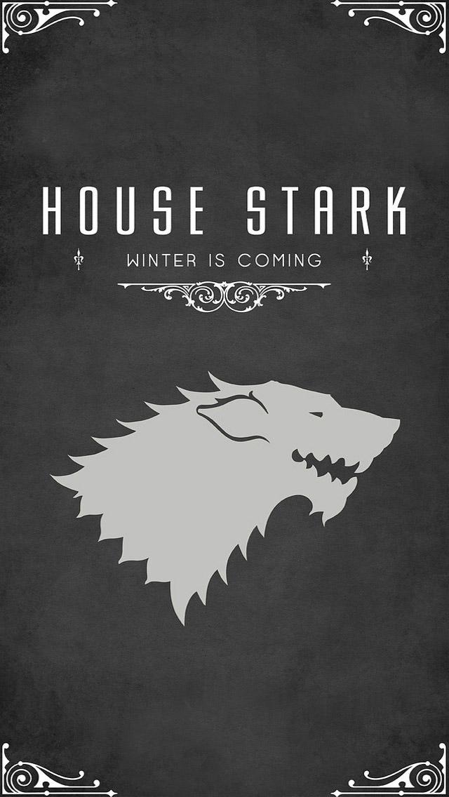 HOUSE STARK iPhone5 スマホ用壁紙
