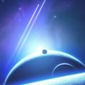 Blue Planet Cosmic iPhone5 スマホ用壁紙
