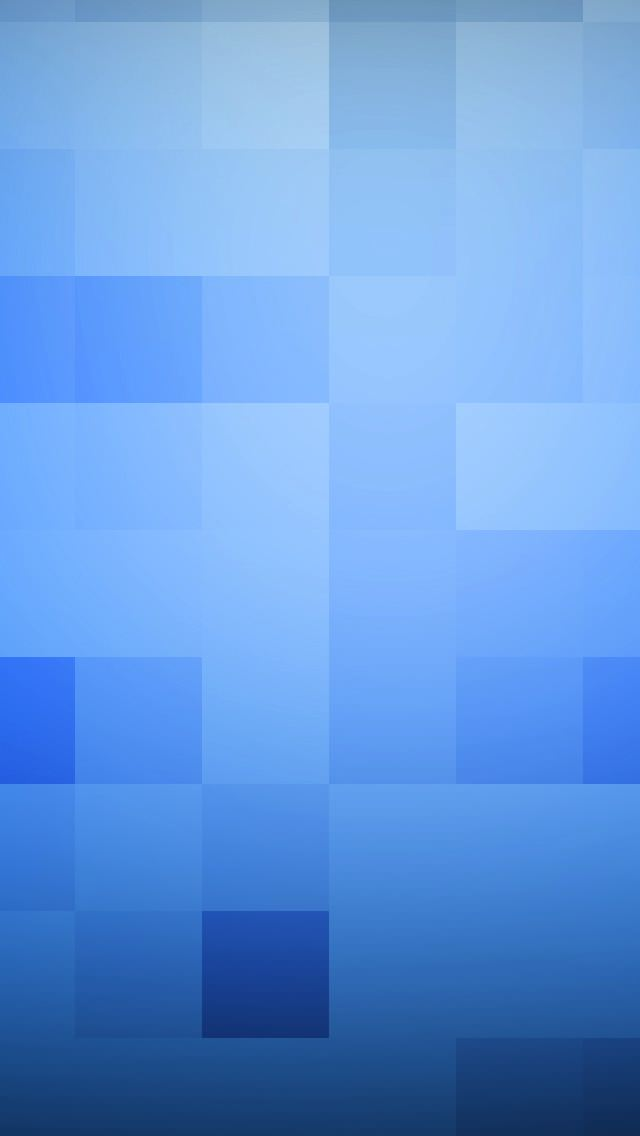 Blue Cube iPhone5 スマホ用壁紙