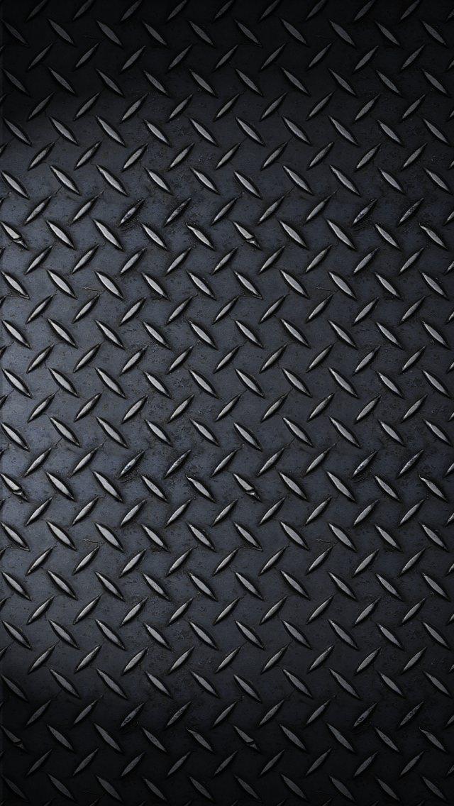 黒の硬質なiPhone5 スマホ用壁紙