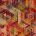 カラフルなトライアングル iPhone5 スマホ用壁紙