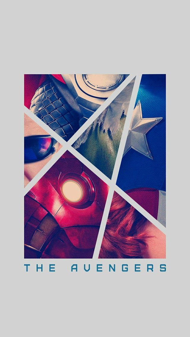 THE AVENGERS iPhone5 スマホ用壁紙