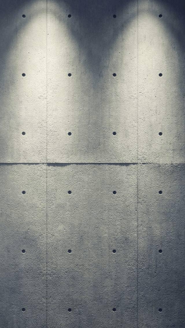 ライトアップされたコンクリート iPhone5 スマホ用壁紙