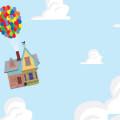 空飛ぶ家 Androidスマホ壁紙