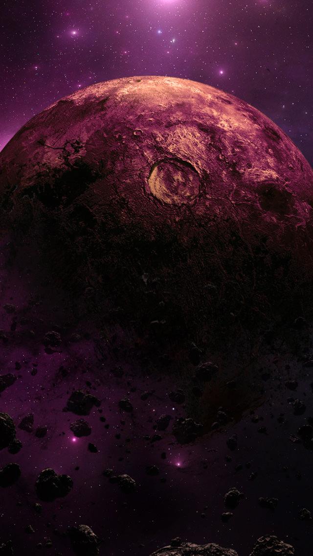 崩壊する惑星 iPhone5 スマホ用壁紙