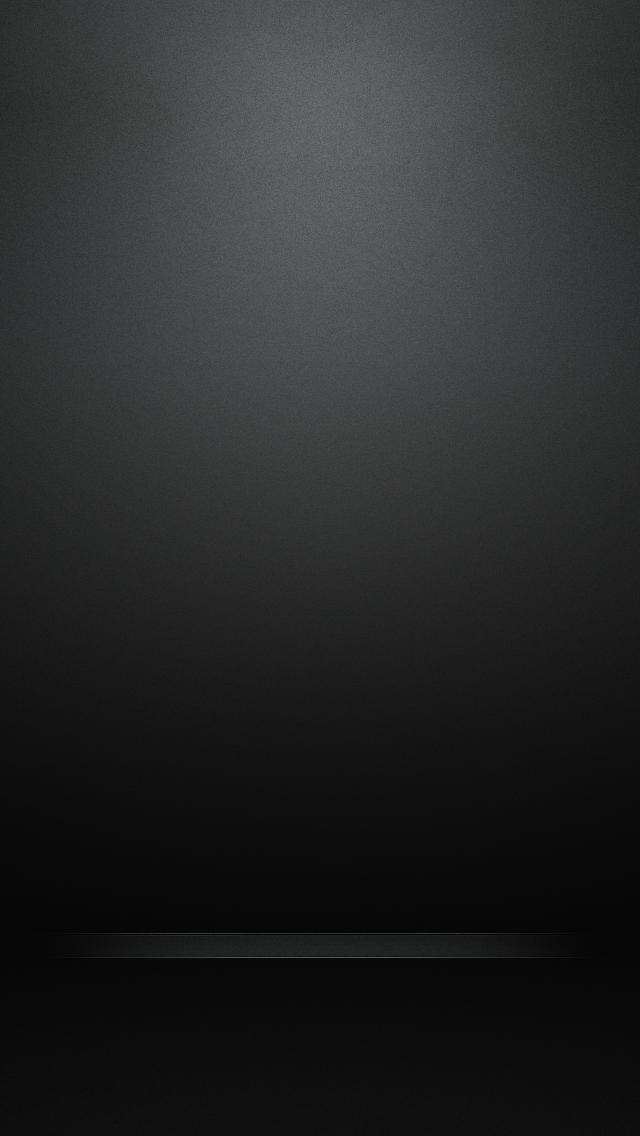 Simple Black iPhone5 スマホ用壁紙