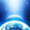 Blue Universe iPhone5 スマホ用壁紙