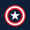 キャプテン・アメリカ iPhone5 スマホ用壁紙