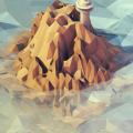 無人島 iPhone5 スマホ用壁紙