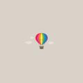 気球のイラスト Androidスマホ壁紙