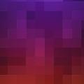 カラフルなグラデーション・キューブ iPhone5 スマホ用壁紙