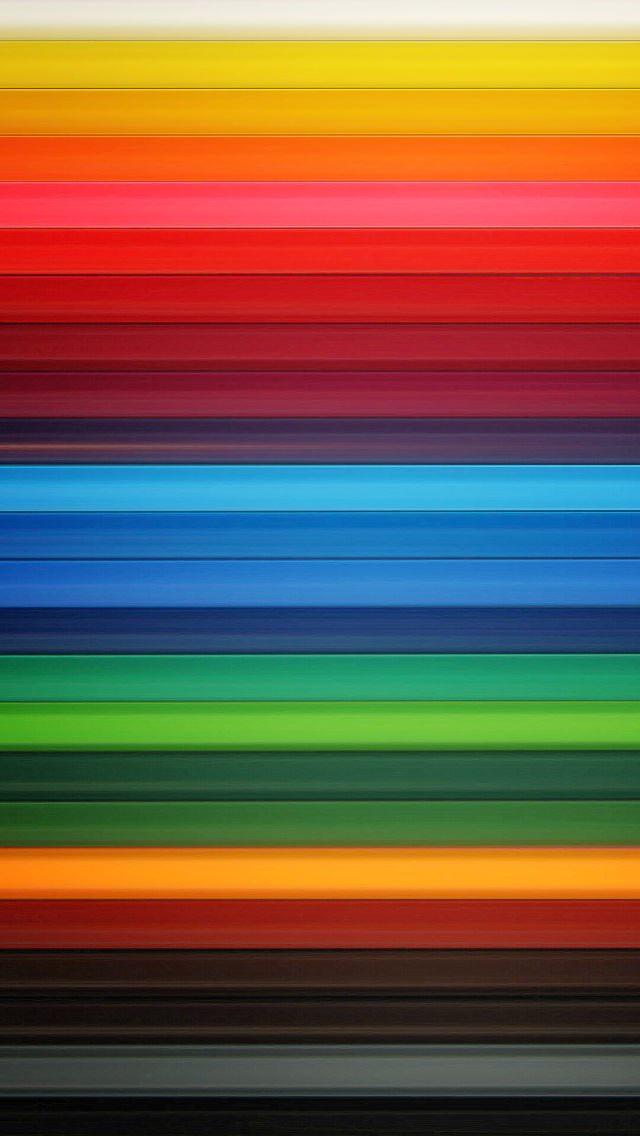 カラフルなグラデーション iPhone5 スマホ用壁紙