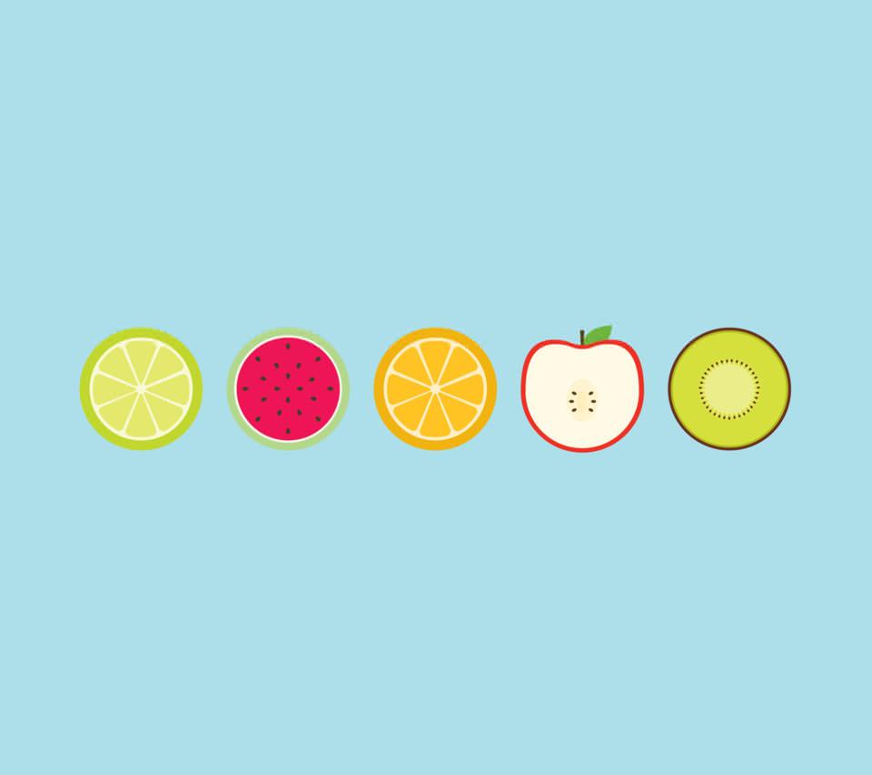 フルーツ盛り合わせ Androidスマホ壁紙 Wallpaperbox