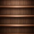 綺麗な茶色の棚 iPhone5 スマホ用壁紙