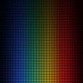 Rainbow Grid iPhone5 スマホ用壁紙