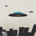 UFO iPhone5 スマホ用壁紙