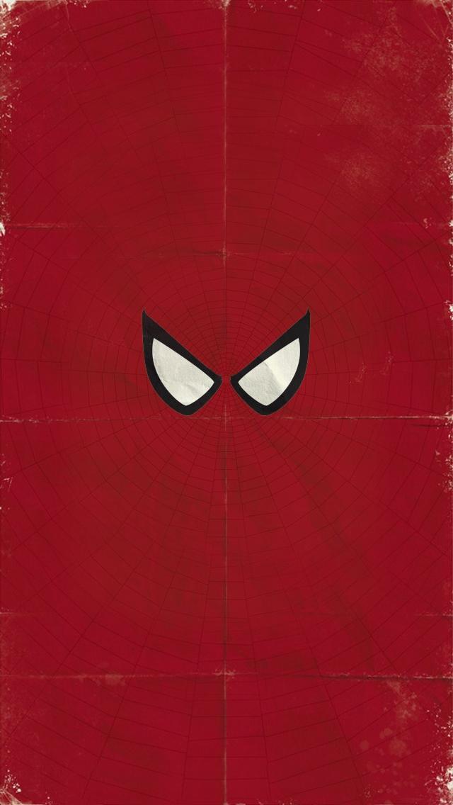 SpiderMan iPhone5 スマホ用壁紙