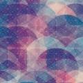楕円幾何学模様 iPhone5 スマホ壁紙