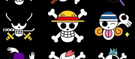ワンピースのロゴ Androidスマホ壁紙