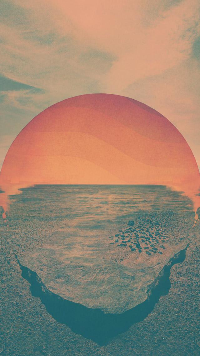 Sun Sets iPhone5 スマホ用壁紙