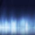 青のカーテン Androidスマホ壁紙