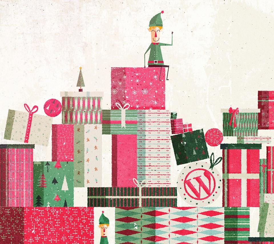 WordPress Gift Androidスマホ壁紙