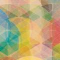 暖色のサークル iPhone5 スマホ用壁紙