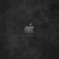 黒のグランジ風 iPhone5 スマホ用壁紙