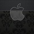 黒のエレガントなiPhone5 スマホ用壁紙