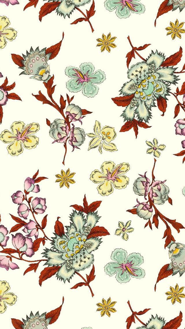 緑花 / ポール&ジョー iPhone5 スマホ用壁紙