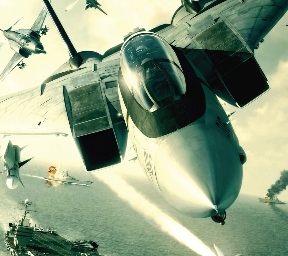 Ace Combat Androidスマホ壁紙