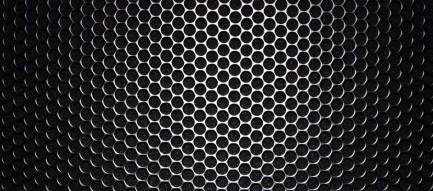 黒の穴の開いたAndroidスマホ壁紙