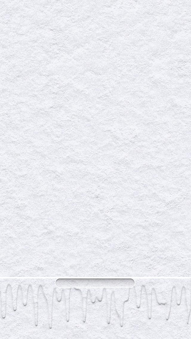 溶けているiPhone5 スマホ用壁紙
