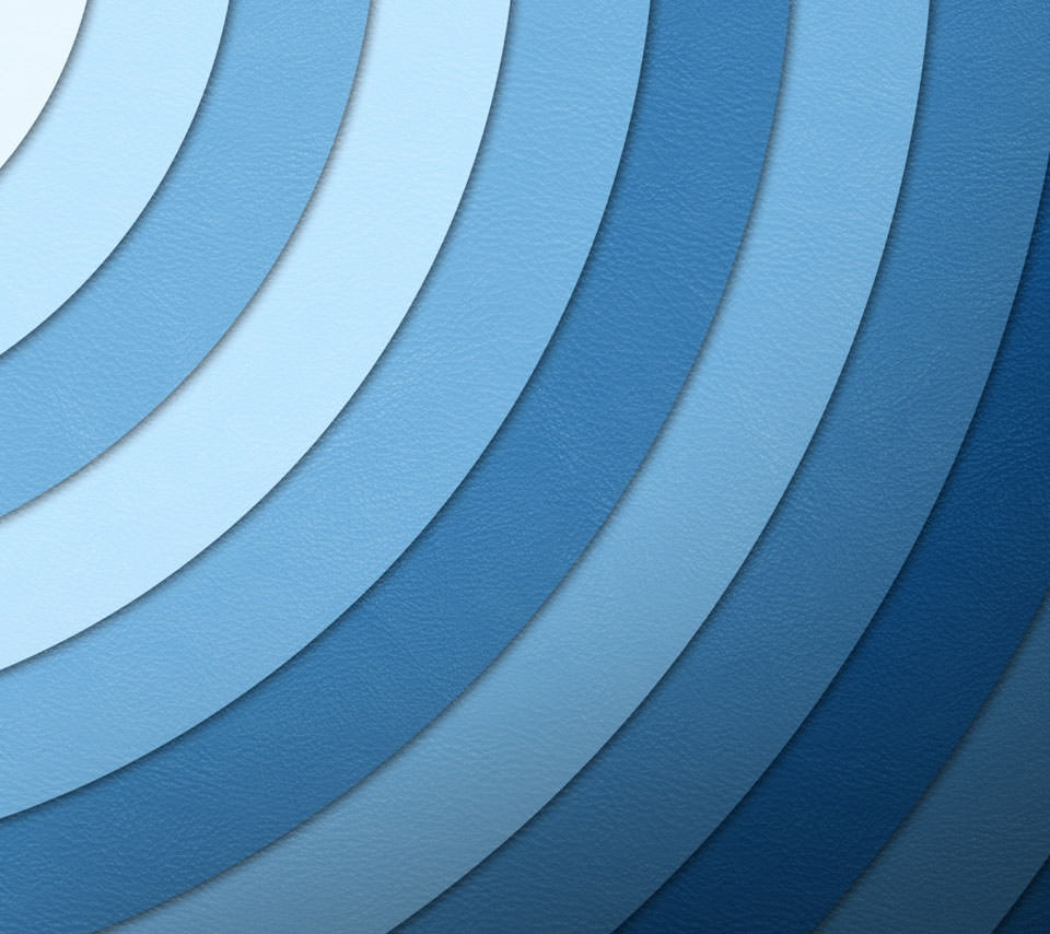 Blue Circle Androidスマホ壁紙
