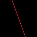 シンプルな赤の線 Androidスマホ壁紙