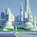 スターウォーズの都市 Androidスマホ壁紙