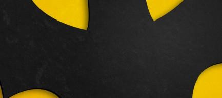 ポップなバットマンロゴ Androidスマホ壁紙