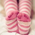 ピンクの靴下 Androidスマホ壁紙