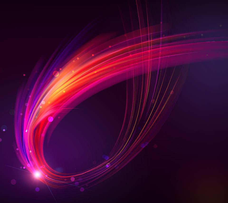 Purple Burst スマホ壁紙