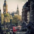 ロンドンの街並 スマホ壁紙