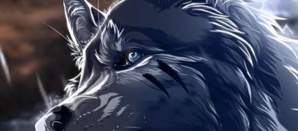 狼の王 スマホ壁紙