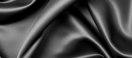 なめらかな黒のシーツ スマホ用壁紙
